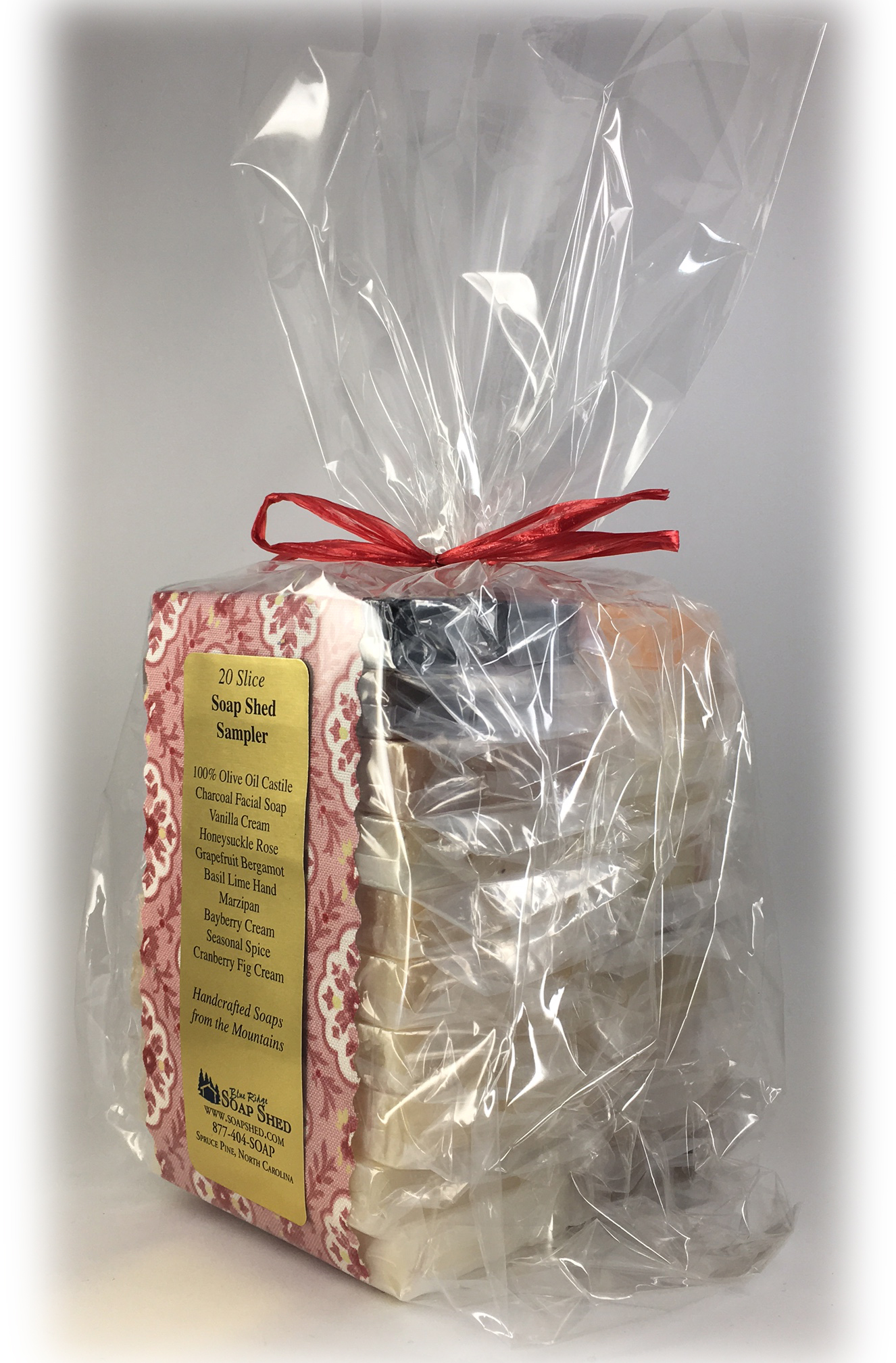 The Soap Shed Sampler - 20 Slices for $49.95