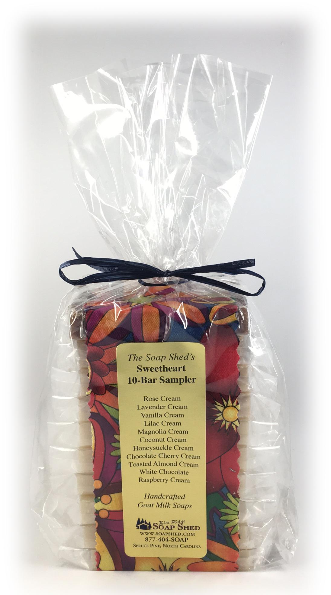 Large 8-10 Slice Soap Samplers for $19.95-$24.95