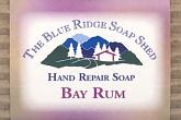 Bay Rum Hand Repair Soap wrapped bar