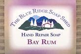 Bay Rum Hand Repair Soap wrapped bar