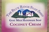 Coconut Cream Goat Milk Soap