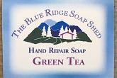 Green Tea Hand Repair Soap wrapped bar photo