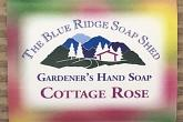 Wrapped Bar of Cottage Rose Gardener's Hand Soap photo