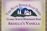 Wrapped Bar of Arzellas Vanilla Goat Milk Soap photo