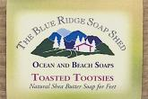Wrapped Bar of Toasted Tootsies Shea Butter Soap for Feet photo