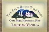Wrapped Bar of Tahitian Vanilla Goat Milk Soap photo
