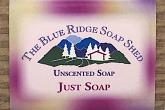 Wrapped Bar of Just Soap Vegetable Oil Soap photo