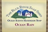 Wrapped Bar of Ocean Rain Soap