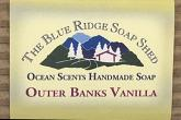 Wrapped Bar of Outer Banks Vanilla Goat Milk Soap