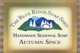 Wrapped Bar of Autumn Spice Seasonal Soap
