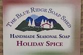 Wrapped Bar of Holiday Spice Seasonal Soap