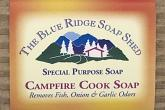 Wrapped Ba of Campfire Cook Soap removes odors