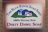 Wrapped Bar of Dirty Dog Soap Shampoo for Dogs photo
