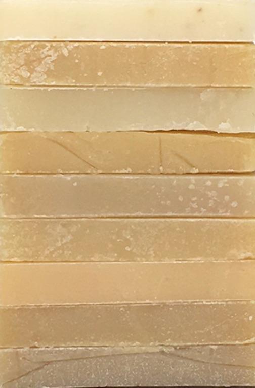 Natural Soap Sampler - 10 Bar Sampler