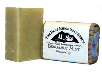 Bergamot Mint Shea Butter Soap for Hands