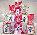 A Gift Grouping - 6 Wrapped Soaps